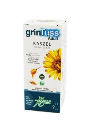 ABOCA grinTuss Adult syrop 128 ml