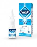 ACATAR AEROZOL do nosa 0,5 mg/ml 15 ml