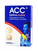ACC OPTIMA ACTIVE 600mg x 10 sasz.
