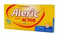 ALERIC Deslo Active 2,5 mg x 10 tabletek