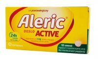 Aleric Deslo Active 5 mg 10 tabletek