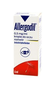 ALLERGODIL krople do oczu 0,05% 6 ml