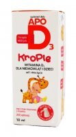 APO D3 400 j.m. krople 10 ml