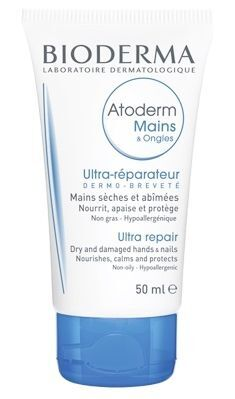 BIODERMA Atoderm Mains & Ongles krem do rąk i paznokci 50 ml