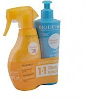 BIODERMA Photoderm Zestaw spray SPF30 400 ml + mleczko po opalaniu 500 ml