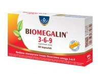 BIOMEGALIN 3-6-9  500 mg x 60 kaps.