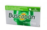 BUSCOPAN 10 mg 10 tabletek
