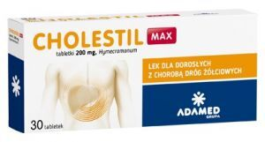 CHOLESTIL Max 200 mg 30 tabletek