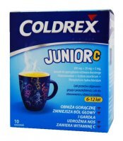 COLDREX Junior C 10 saszetek