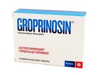 GROPRINOSIN 20 tabletek