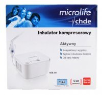 Inhalator kompresorowy Microlife NEB 200 z ETUI do transportu