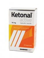 KETONAL ACTIVE 50 mg x 20 kaps.