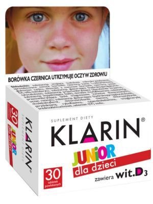 KLARIN Junior 30 tabletek
