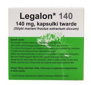 LEGALON 140 mg x 20 kaps. (DELFARMA)