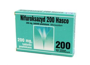 NIFUROKSAZYD Hasco 200 mg 12 tabletek
