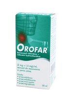 OROFAR aer. 30 ml