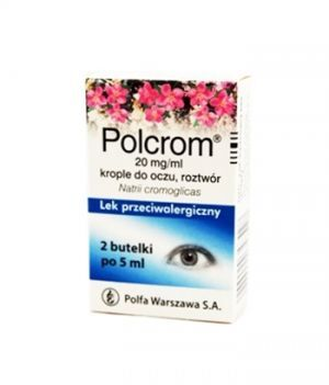 POLCROM 2% krople 10 ml