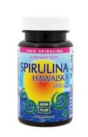SPIRULINA Hawajska 500 mg 100 tabletek