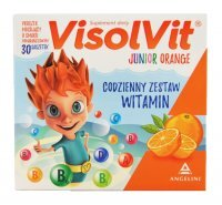 VISOLVIT JUNIOR Orange x 30 sasz.