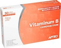 Vitaminum B Compositum 50 tabletek